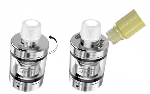 Ehpro True MTL RTA - a tank with a mysterious blow ...