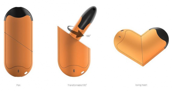 Perkey Lov Transformable Pod System Kit - сердце-трансформер...