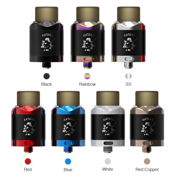 IJOY Katana RDA Review