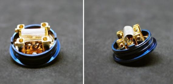 RFG Vape 2+1 RDA - юзаем и спирали, и сетку, причем одновременно...
