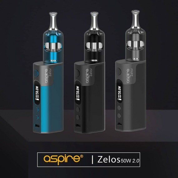 Aspire Zelos 50W 2.0 Kit Review (Nautilus 2S Tank)