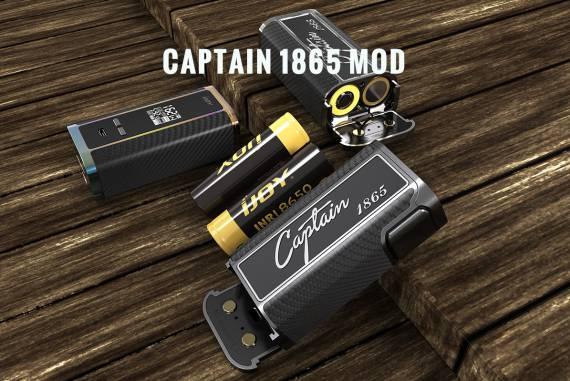 IJOY Captain 1865 162W Mod - даунгрейд капитана...