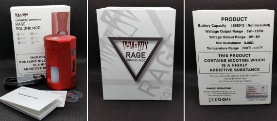 Пощупаем??? - Desire Design Squonky Tank и Rage Squonk mod...
