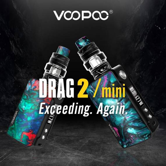 Voopoo DRAG mini kit - самый мелкий драг в семействе...