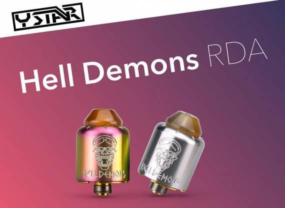 Ystar Hell Demons RDA - за инновации браво...Ystar Hell Demons RDA,