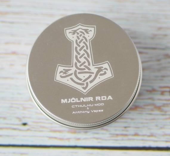 Cthulhu mod Mjölnir RDA - одна спираль под двойным куполом...