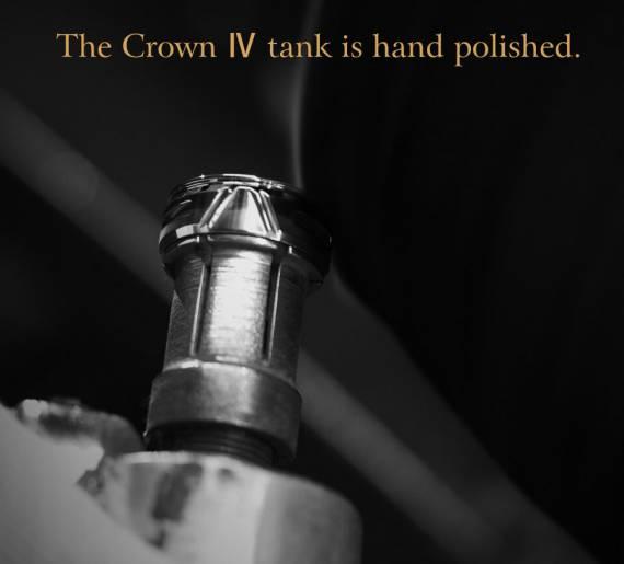 UWELL Crown IV Tank - коронованная особа...