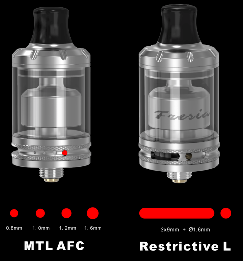 Damnvape Fresia MTL / Restrictive lung RTA  - одной булкой на два стула...
