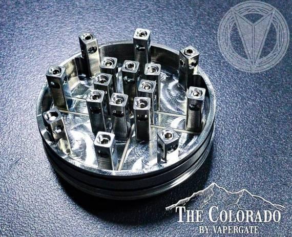 Vapergate The Colorado RDA - когда 16 !!! спиралей это не предел...