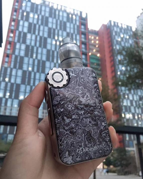 Vapemons Gearbox 222W - just two interesting pieces ...