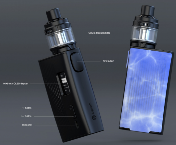 Joyetech ESPION Tour Kit with Cubis Max is light weight, but serious intentions ...