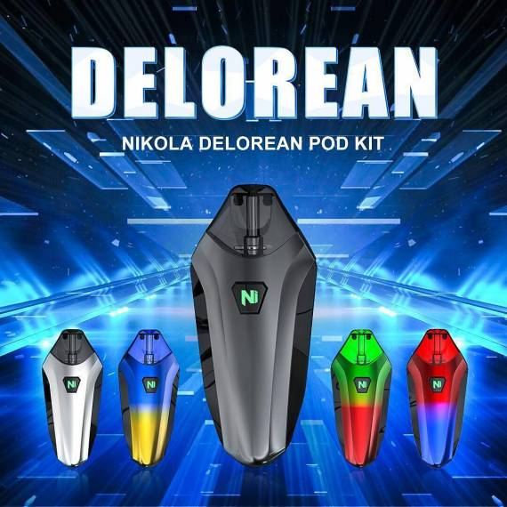 Nikola Delorean Pod Kit Review