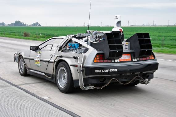 Nikola Delorean Pod Kit - back to the future ...