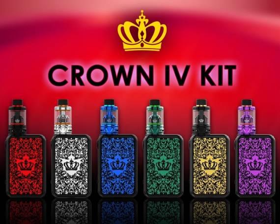 Uwell Crown IV MOD - кирпич для королевской особы...