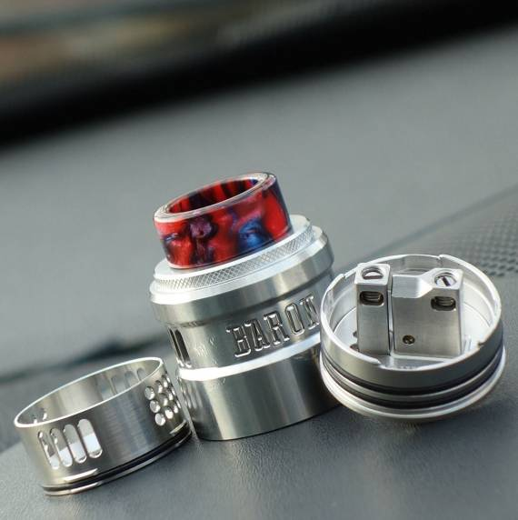 GeekVape Baron RDA - multifunctionality, where? ...