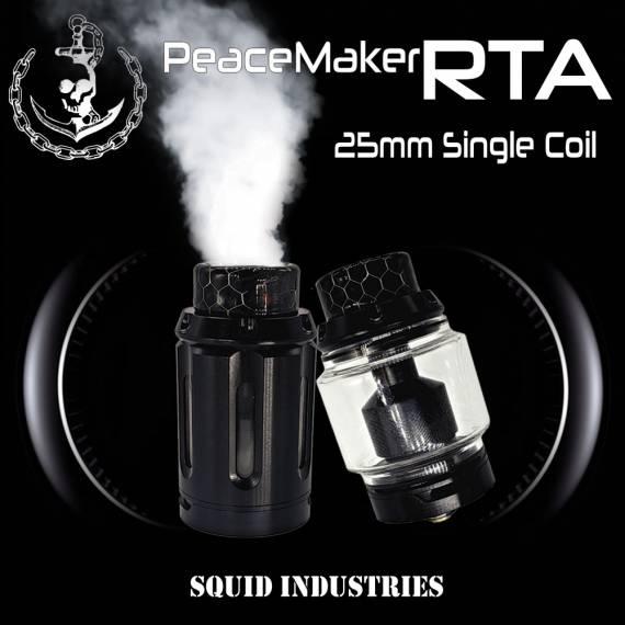 Squid Industries PeaceMaker RTA - одна спираль и знакомый экстерьер...
