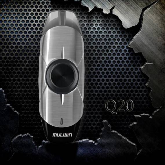 MULWIN Q20 Spinner Vape Pod Kit review