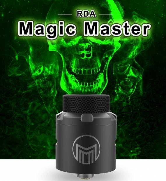 Acevape Magic Master RDA - внешне простая, внутри продуманная...