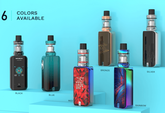 Vaporesso Luxe Nano kit - не нано, но мини точно...