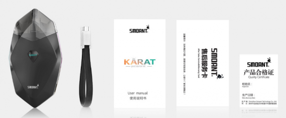 Smoant Karat Pod Kit - the price tag corresponds to the name ...