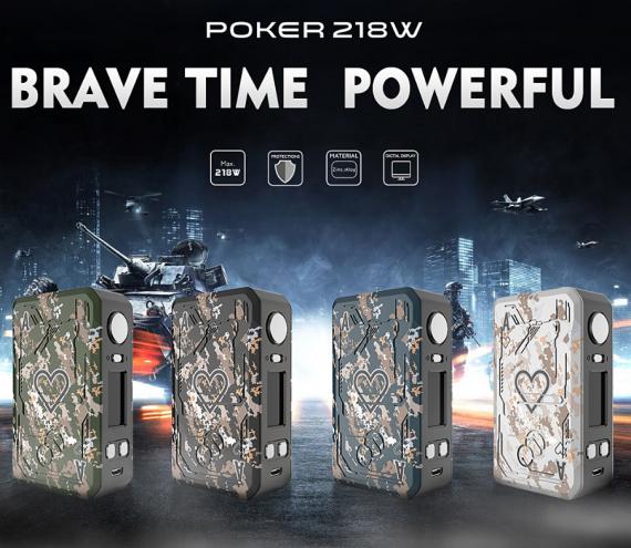 Teslacigs Poker 218w kit - a set for gambling ...