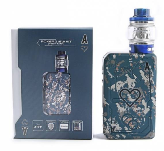 Teslacigs Poker 218w kit - a set for gambling ...