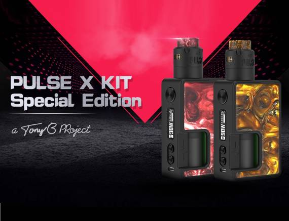 Vandy Vape Pulse X Kit Special Edition - слепили из того что было...