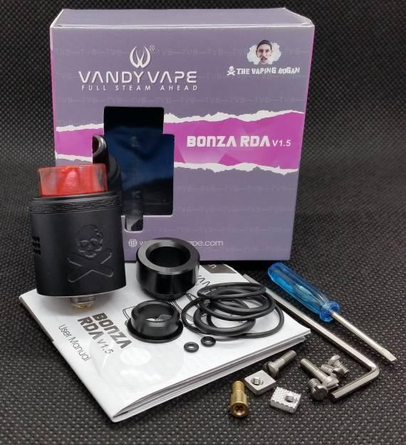 Пощупаем??? - Vandy Vape Bonza V1.5 RDA...
