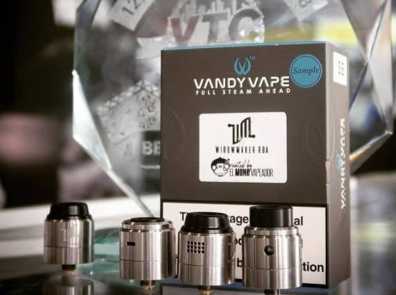 Vandy Vape Widowmaker RDA - очень опасная штуковина...
