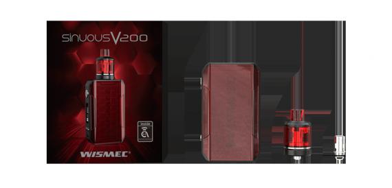 Wismec Sinuous V200 kit - облегченный флагман...