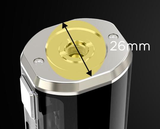 Wismec Sinuous V80 Kit - компактный и прозрачный...
