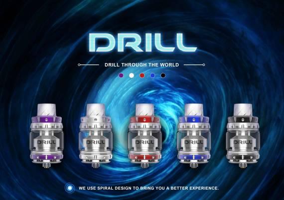 Damselfly Drill RTA - двуспиральный бак от новичков...