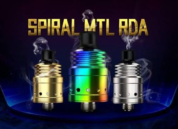 Новые старые предложения - OBS Cube kit и Ambition Mods Spiral MTL RDA...