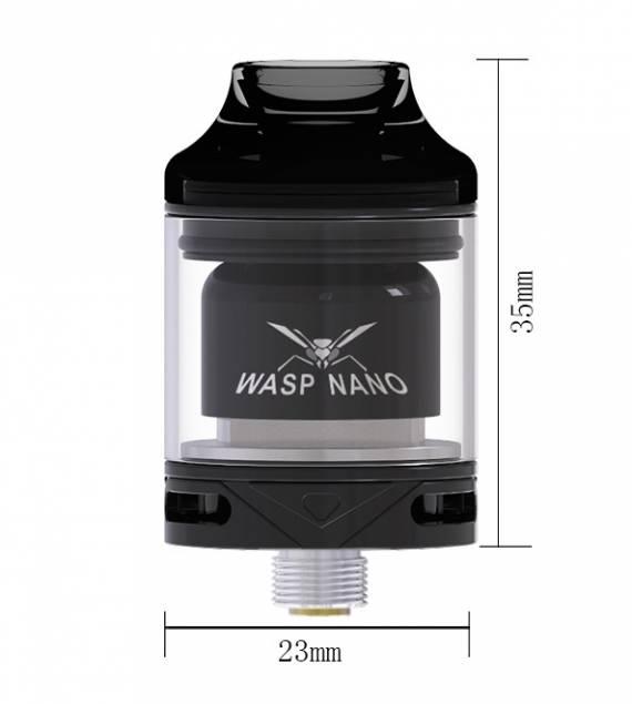 Oumier Wasp Nano RTA - односпиральный бак размером с дрипку