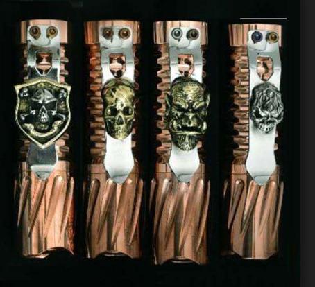 5GVape Machete mod - еще один механический мод с оригинальным оформлением...