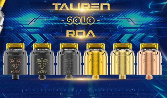 THC Tauren Solo RDA -  продуваемая односпиралка...