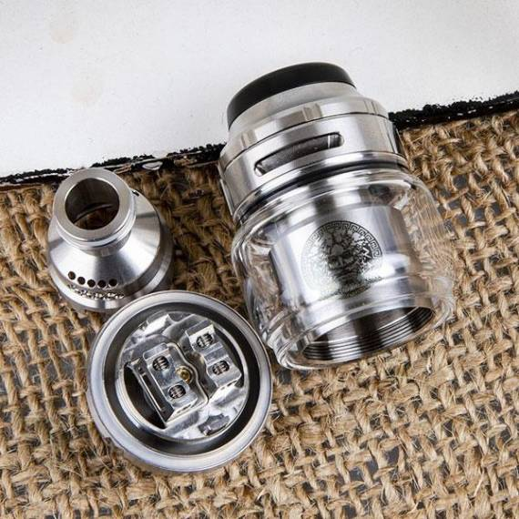GeekVape Zeus X RTA - no spill again with extra blowing holes? ...