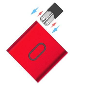 E-bossvape Epod Starter Kit - квадрат для JUUL pods...