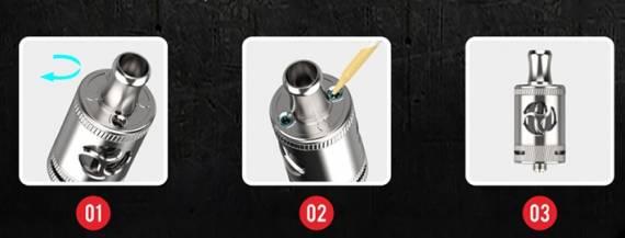 Jiuang Shadow II Vape Kit - простой зато дешевый набор...
