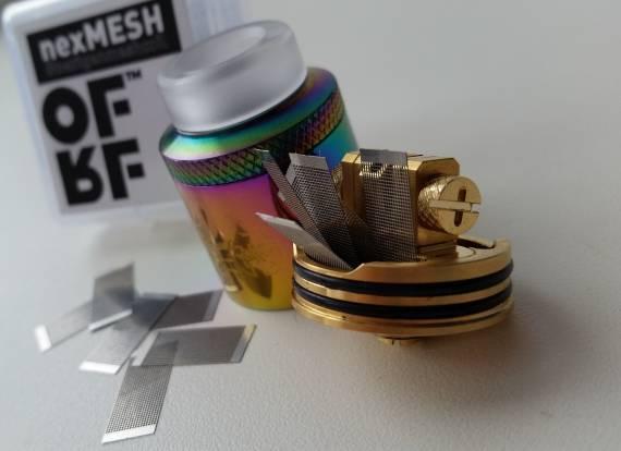 Пощупаем??? - Acevape Bomb Cat RDA + OFRF nexMESH...