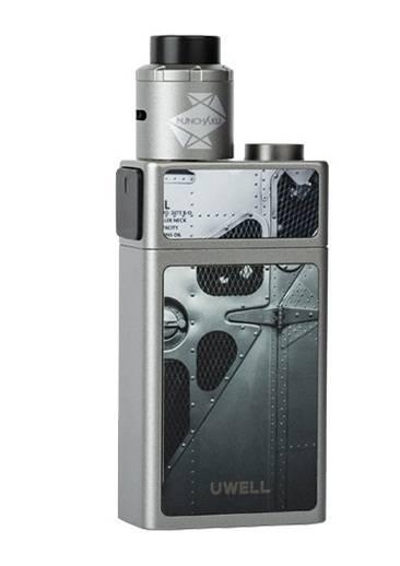 Uwell Blocks 90W Squonk mod - интересный кирпичный сквонк...