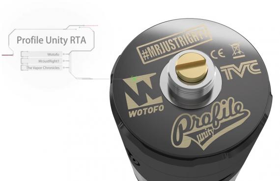 Wotofo Profile Unity RTA - теперь одноименный бак на сетке...
