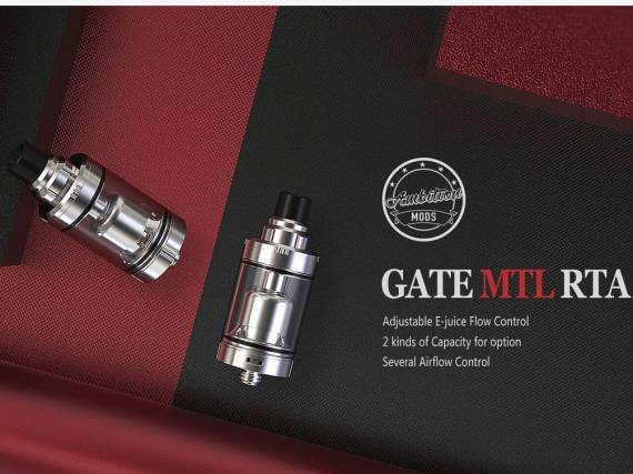 Ambition Mods Gate MTL RTA is a rather amusing cigarette ...