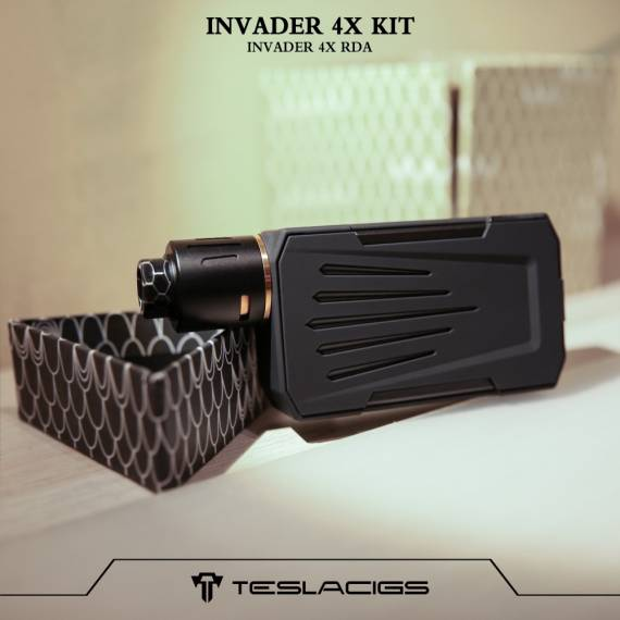 Teslacigs Invader 4X Vape Kit - finally worn out its brutality ...