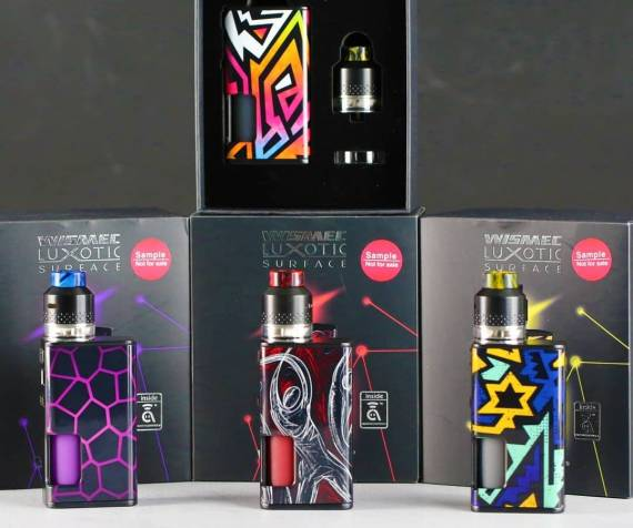 Wismec Luxotic Surface with Kestrel Kit Review