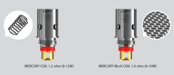 IJOY Mercury kit - a familiar form factor ...