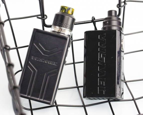 Wismec Luxotic Surface with Kestrel Review