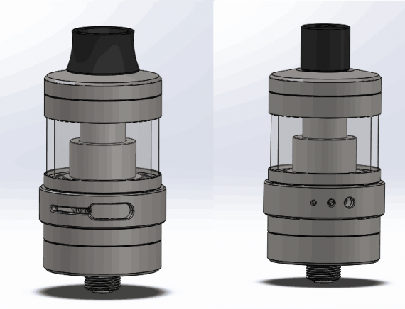 Steam Crave Aromamizer Lite RTA 23mm - поклонникам аромамайзеров на заметку...