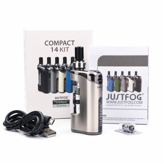 Justfog Compact 14 Kit Review