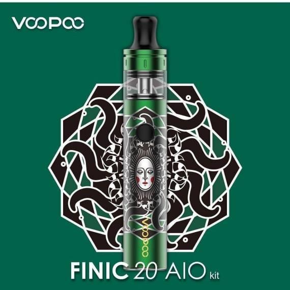 Voopoo Finic 20 AIO - немного толще, мощнее и автономнее...